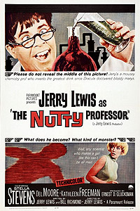 Nutty Professor, The (1963) Movie Poster
