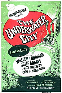 Underwater City, The (1962) Movie Poster