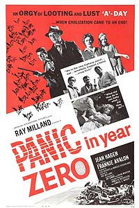 Panic in Year Zero! (1962) Movie Poster