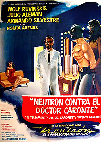 Neutrón contra el Dr. Caronte (1963) Movie Poster