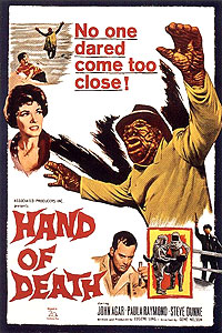 Hand of Death (1962) Movie Poster