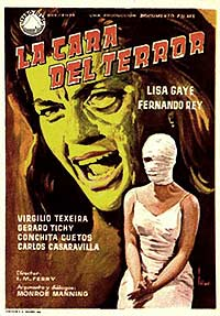 Cara del Terror, La (1962) Movie Poster