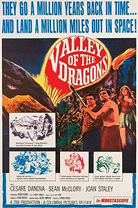 Valley of the Dragons (1961) Movie Poster
