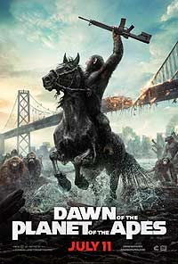 Dawn of the Planet of the Apes (2014) Movie Poster