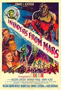 Invaders from Mars (1953) Movie Poster