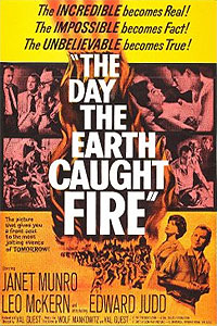 Day the Earth Caught Fire, The (1961) Movie Poster
