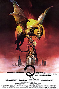 Q: The Winged Serpent (1982) Movie Poster