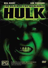 Death of the Incredible Hulk, The (1990) Movie Poster