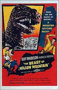 Beast of Hollow Mountain, The (1956) Movie Poster