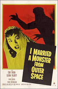 I Married a Monster from Outer Space (1958) Movie Poster
