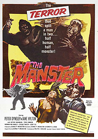 The Manster (1959) Movie Poster