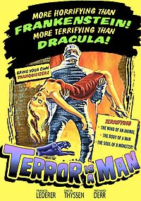 Terror Is a Man (1959) Movie Poster