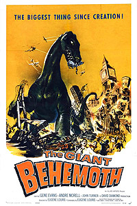 Behemoth, the Sea Monster (1959) Movie Poster
