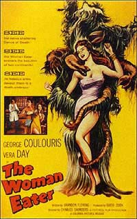 Woman Eater, The (1958) Movie Poster