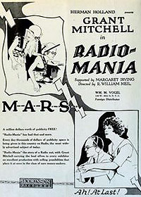 Radio-Mania (1922) Movie Poster
