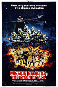 Mission Galactica: The Cylon Attack (1979) Movie Poster