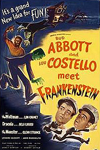 Abbott and Costello Meet Frankenstein (1948) Movie Poster