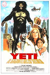 Yeti - Il Gigante del 20. Secolo (1977) Movie Poster