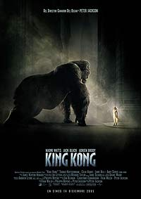 King Kong (2005) Movie Poster