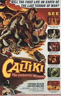 Caltiki - Il Mostro Immortale (1959) Movie Poster