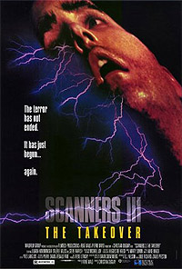 Scanners III: The Takeover (1991) Movie Poster