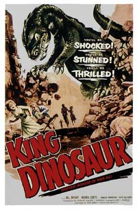 King Dinosaur (1955) Movie Poster