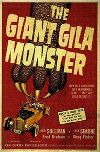 Giant Gila Monster, The (1959) Movie Poster