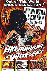 Fire Maidens from Outer Space (1956) Movie Poster