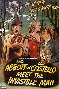 Abbott and Costello Meet the Invisible Man (1951) Movie Poster