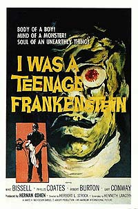I Was a Teenage Frankenstein (1957) Movie Poster