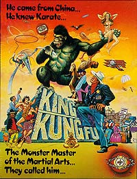 King Kung Fu (1976) Movie Poster