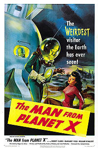 Man from Planet X, The (1951) Movie Poster