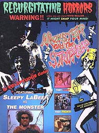 Monster and the Stripper, The (1968) Movie Poster