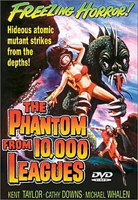 Phantom from 10,000 Leagues, The (1955) Movie Poster