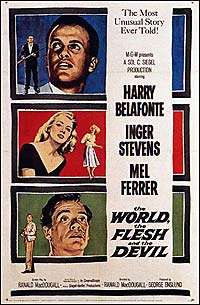 World, the Flesh and the Devil, The (1959) Movie Poster