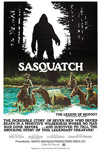 Sasquatch: The Legend of Bigfoot (1976) Movie Poster