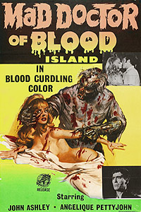 Mad Doctor of Blood Island (1968) Movie Poster
