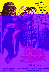 Teenage Zombies (1959) Movie Poster