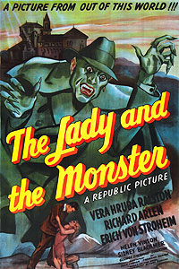 Lady and the Monster, The (1944) Movie Poster