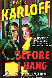 Before I Hang (1940) Movie Poster