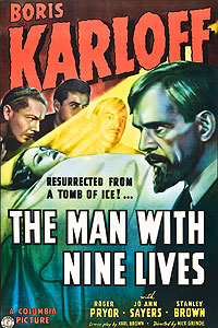 Man with Nine Lives, The (1940) Movie Poster