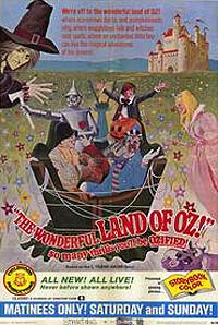 Wonderful Land of Oz, The (1969) Movie Poster