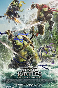 Teenage Mutant Ninja Turtles: Out of the Shadows (2016) Movie Poster