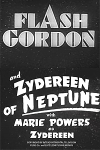 Flash Gordon and Zydereen of Neptune (1955) Movie Poster