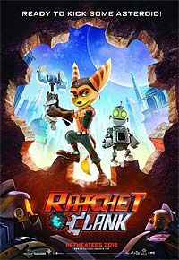 Ratchet & Clank (2016) Movie Poster