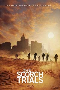 Maze Runner: The Scorch Trials (2015) Movie Poster