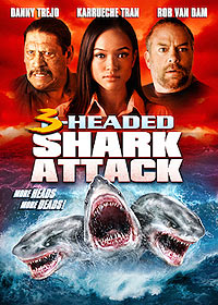 3 Headed Shark Attack (2015) Movie Poster