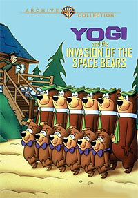 Yogi & the Invasion of the Space Bears (1988) Movie Poster