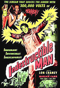 Indestructible Man (1956) Movie Poster