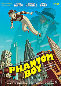 Phantom Boy (2015) Movie Poster